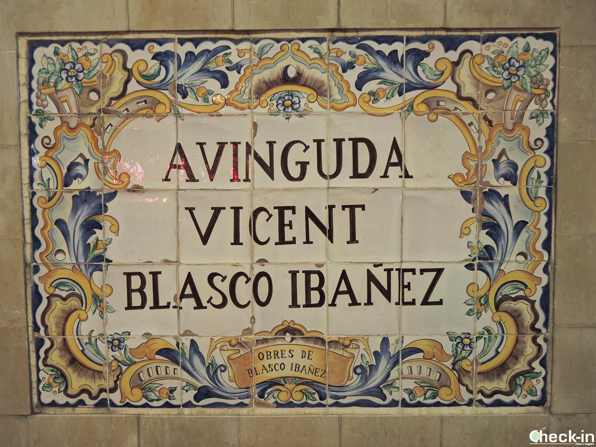 Avinguda Blasco Ibáñez a Manises, provincia de Valencia