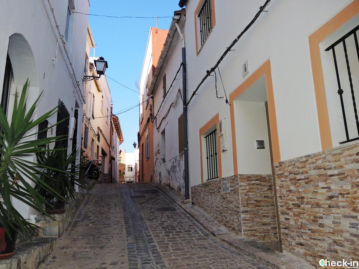 Paseo por el barrio judío de Sagunto (España)