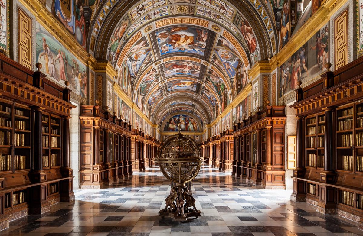 La Biblioteca del Monastero de El Escorial - Spagna