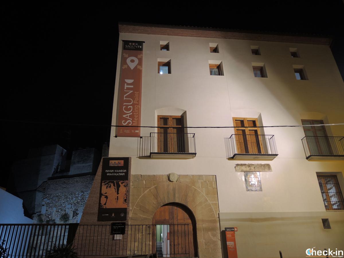 La Casa dels Berenguer en el centro de Sagunto (España)