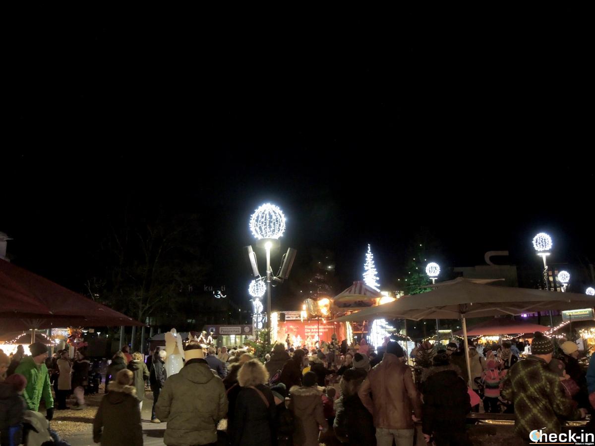 I mercatini natalizi nel parco di Kufstein - Tirolo, Austria