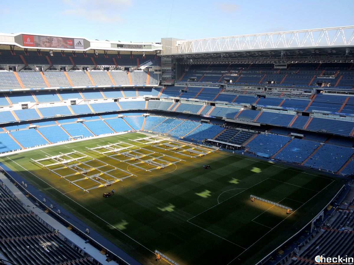 Tour del Bernabéu, panorama dello stadio del Real Madrid
