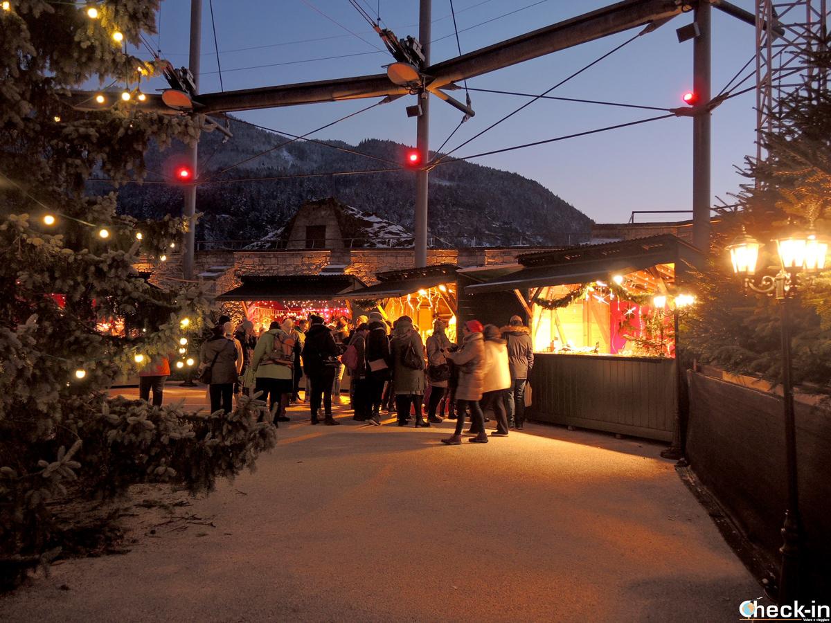 Cosa vedere nei mercatini di Natale alla Festung Kufstein in Austria (Tirolo)