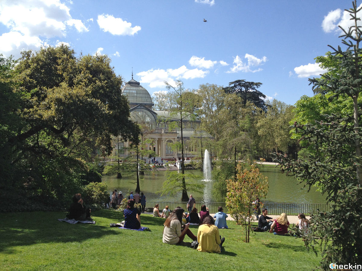 12 giardini e parchi pubblici di Madrid: il parque del Retiro