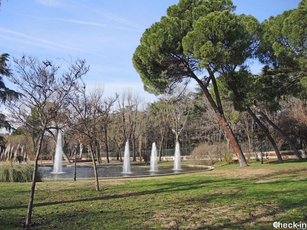"""12 giardini e parchi pubblici di Madrid da vedere: """"Parque de Atenas"""""""