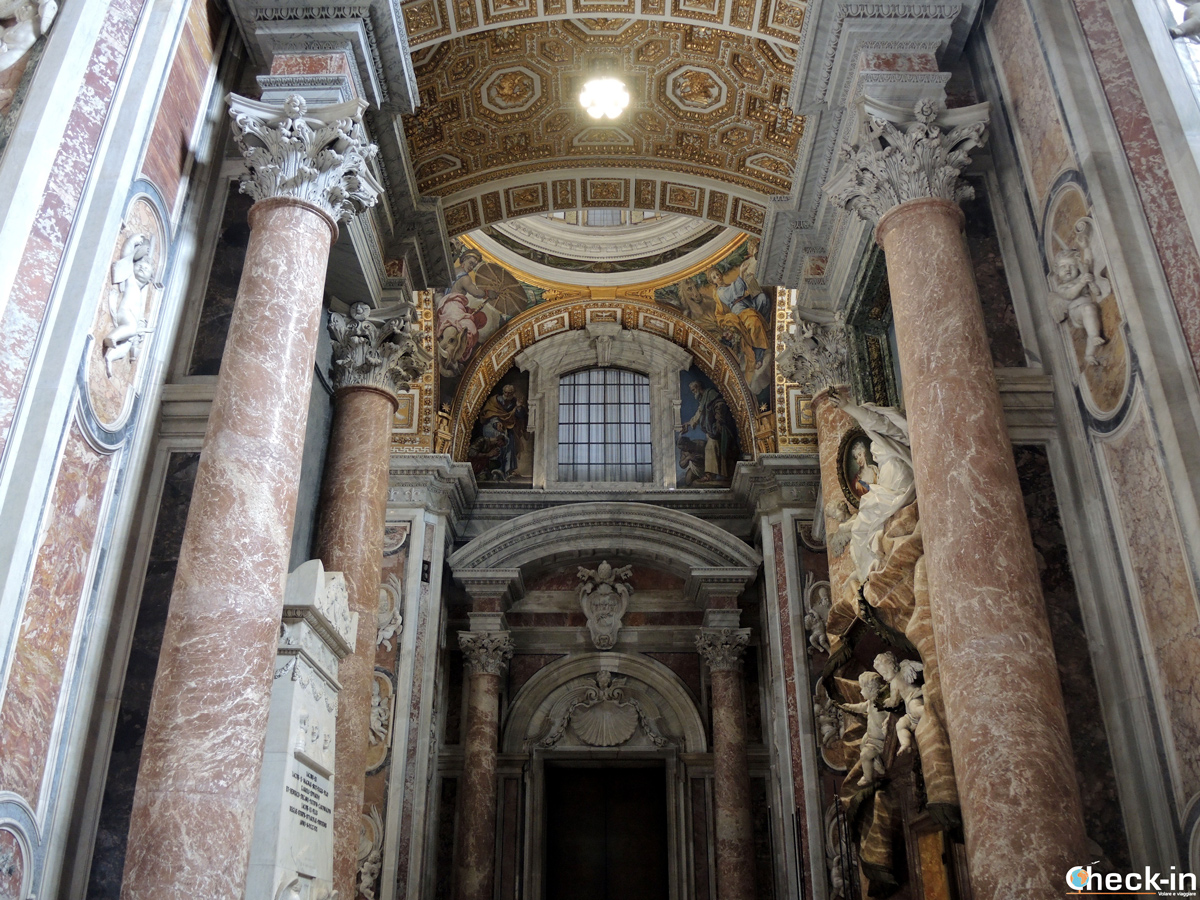 Il Sepolcro degli Stuart e la tomba di Maria Clementina a S. Pietro (Roma)
