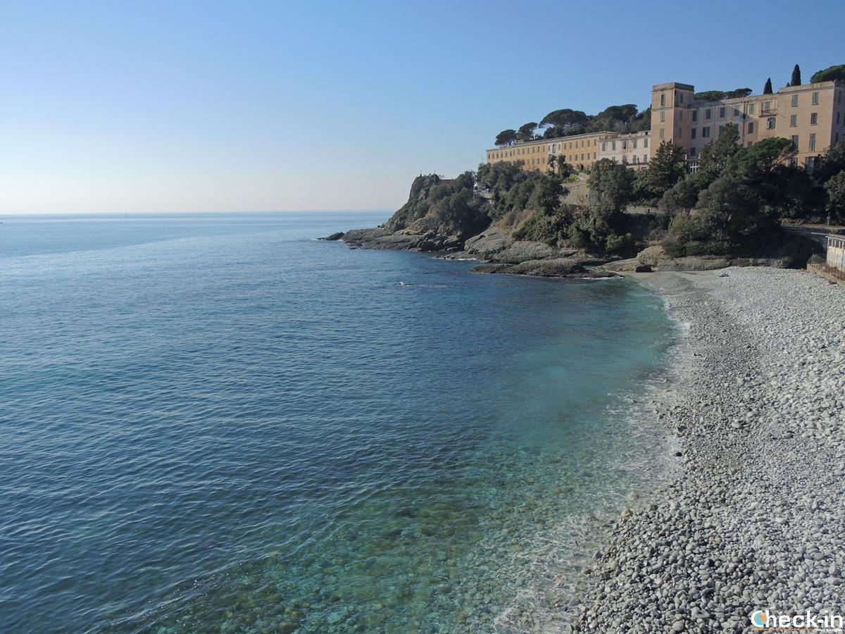 Passeggiata lungomare tra Varazze e Celle Ligure - Spiaggia dei bergamaschi