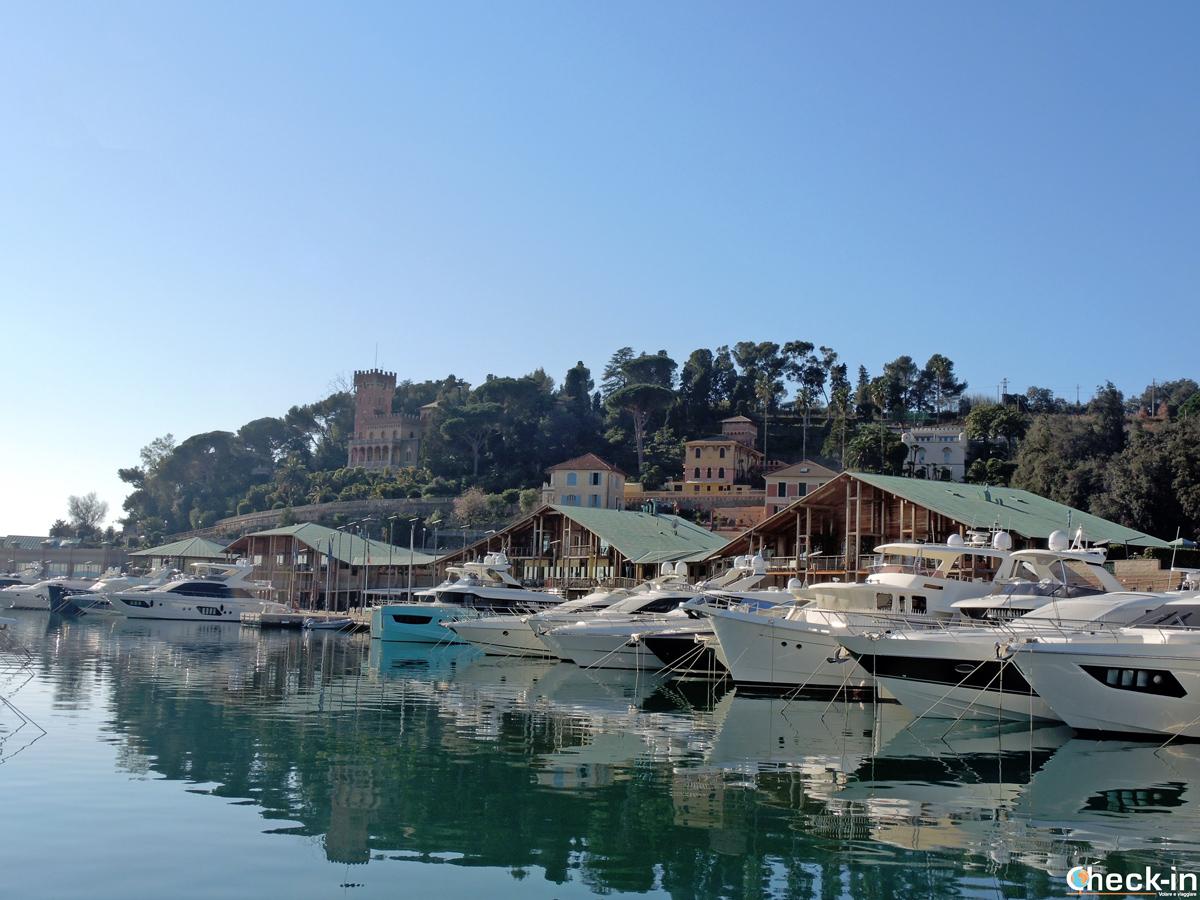 Scorcio della Marina di Varazze - Provincia di Savona, riviera ligure di Ponente