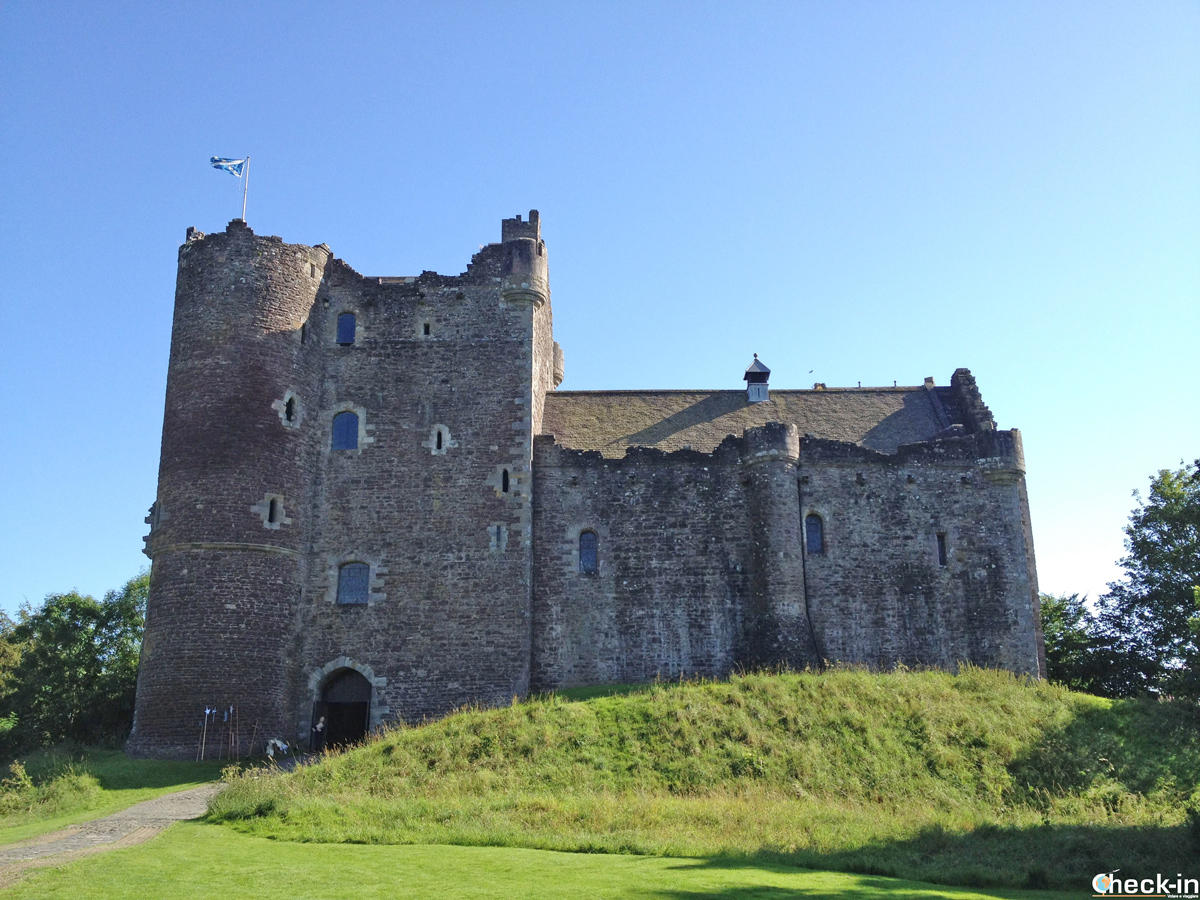 Il Doune Castle, incluso con lo Scottish Heritage Pass