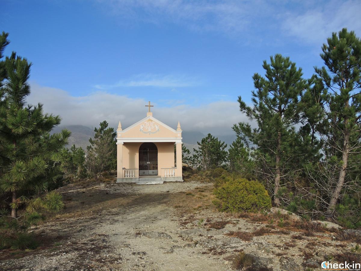Cappella sul Monte Grosso a Varazze - Provincia di Savona, Liguria