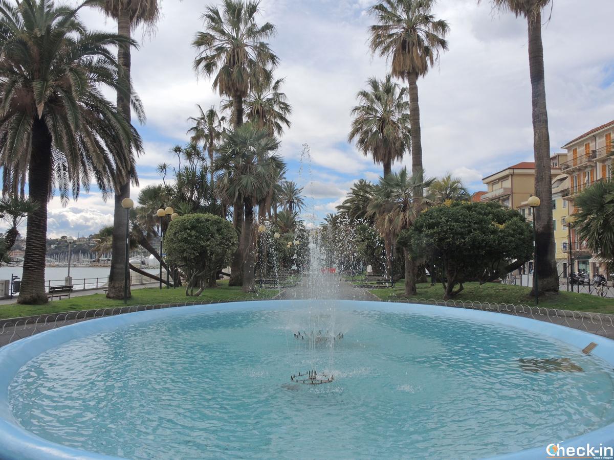 I giardini del lungomare di Varazze - Provincia di Savona, Liguria