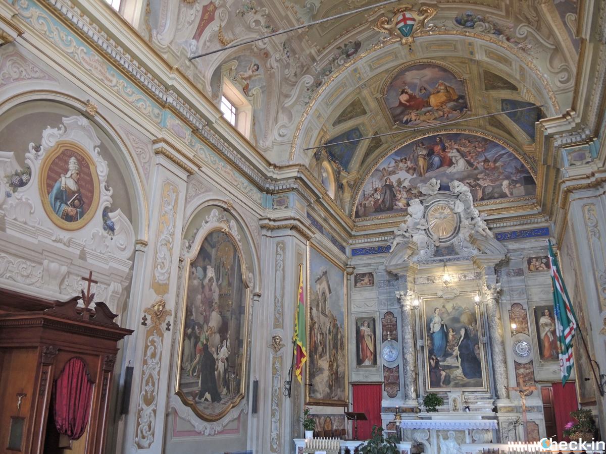 Gli affreschi interni del Santuario della SS. Trinità di Varazze (Liguria)