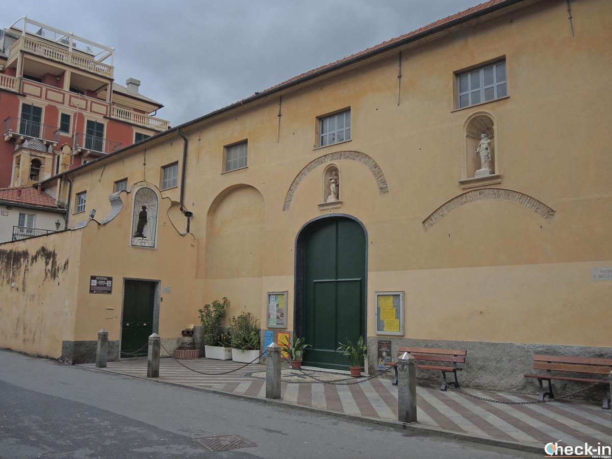 Cosa vedere a Varazze: l'Oratorio S. Bartolomeo