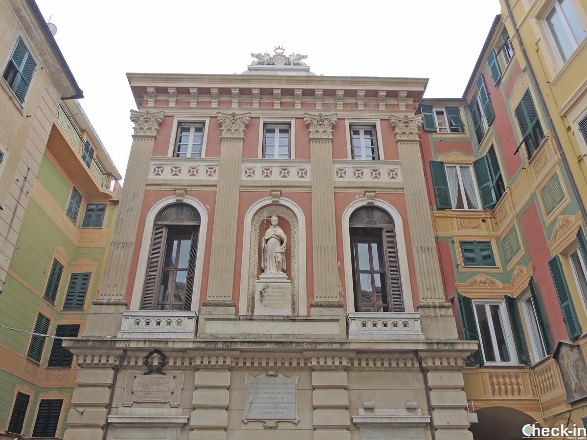 Edifici storici nel nucleo più antico di Varazze, in provincia di Savona