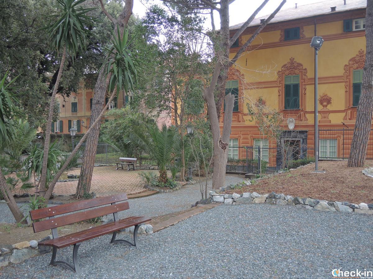 Relax a Varazze nel Parco di Villa Croce