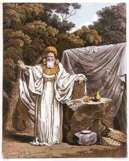 La figura del druido nella storia e cultura scozzese
