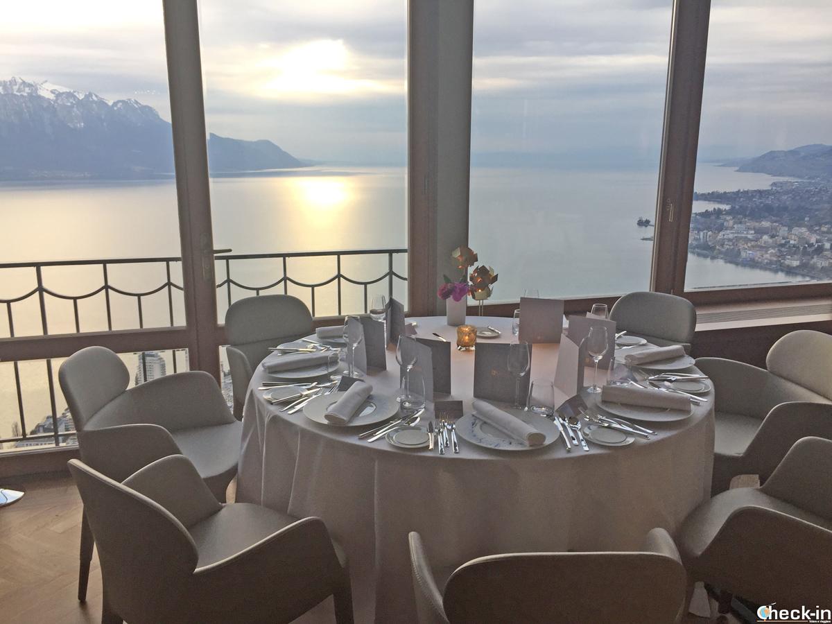 Il Ristorante Bellevue di Glion - Montreux, Svizzera