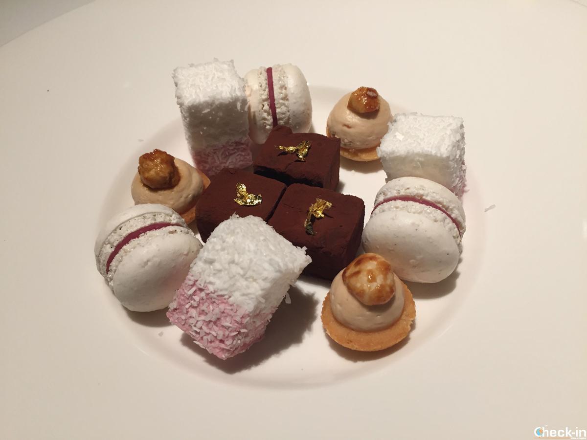 Dessert al Ristorante Bellevue di Glion (Montreux)