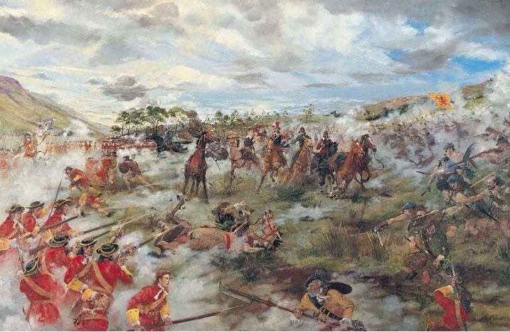 Rivolte e battaglie degli Highlander di Scozia