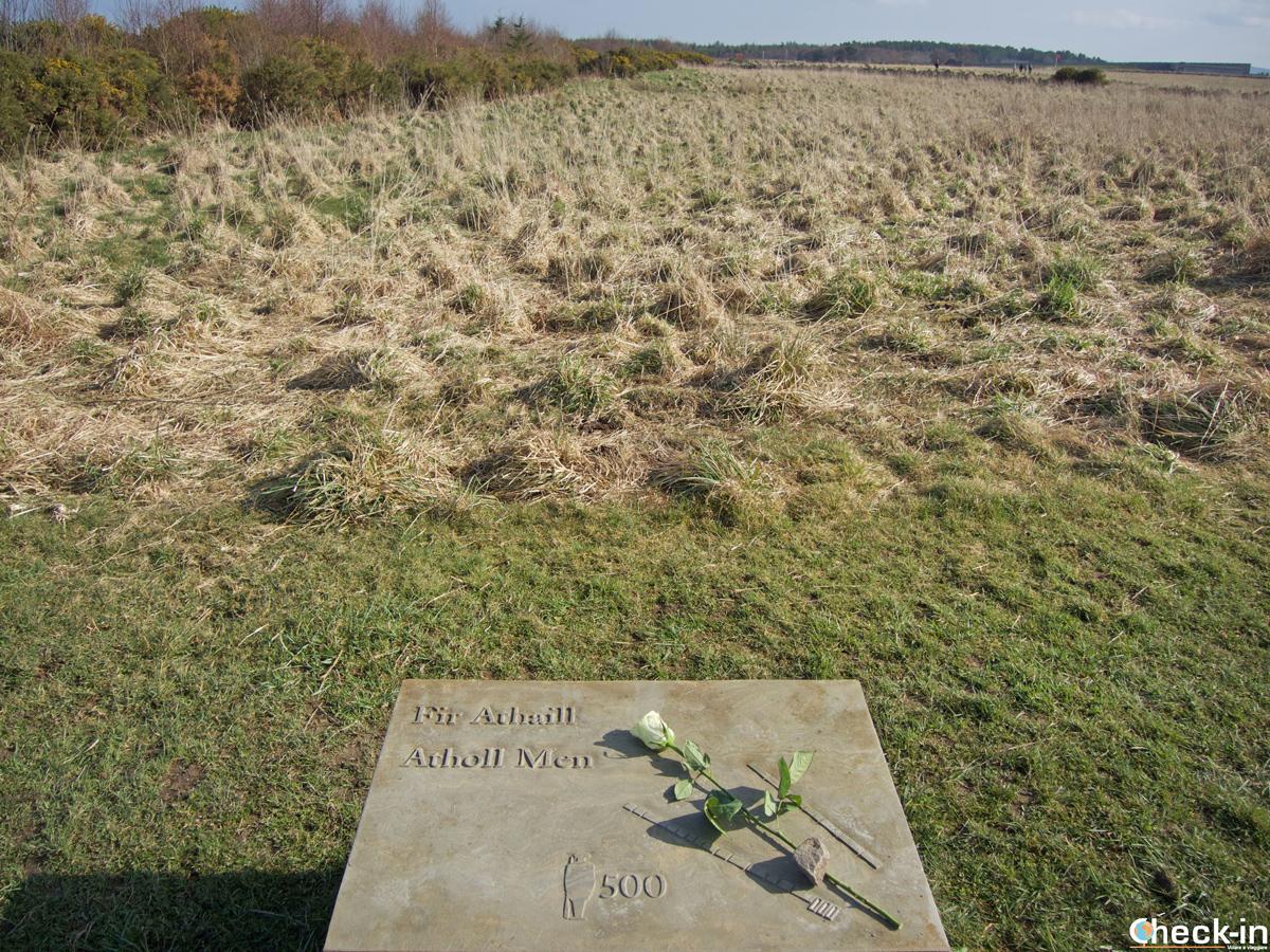 La linea giacobita nella battaglia di Culloden dell'aprile 1746