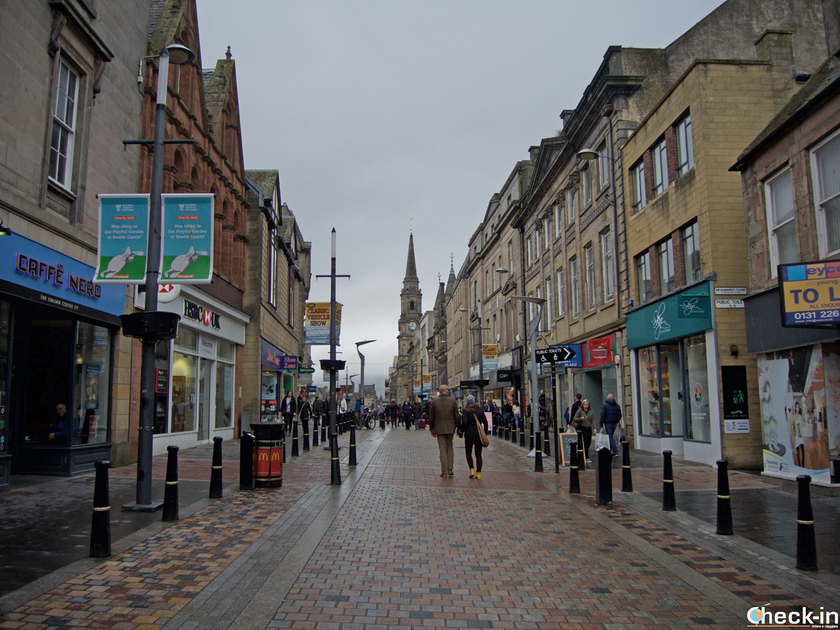 High Street, la via dello shopping di Inverness