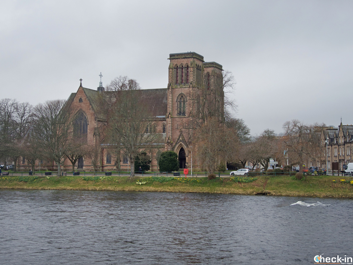La Cattedrale di St Andrews a Inverness (Scozia)