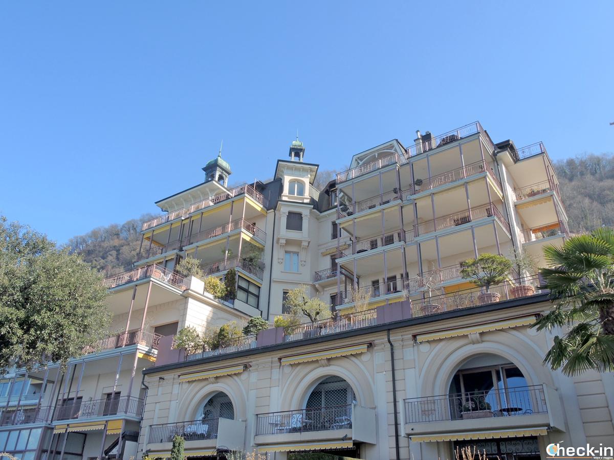 L'appartamento affittato da Freddie Mercury sul lungolago a Territet (Montreux)