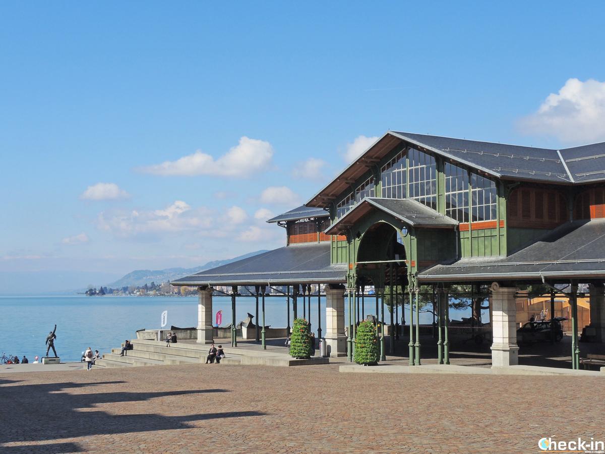 Cosa vedere a Montreux: la Place du Marché