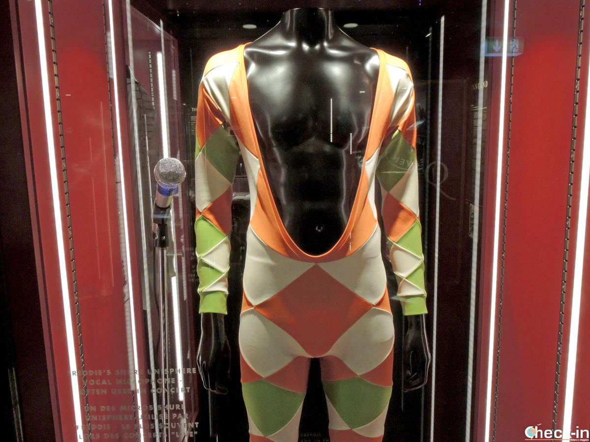 Costumi di scena di Freddie Mercury alla Queen - The Studio Experience di Montreux