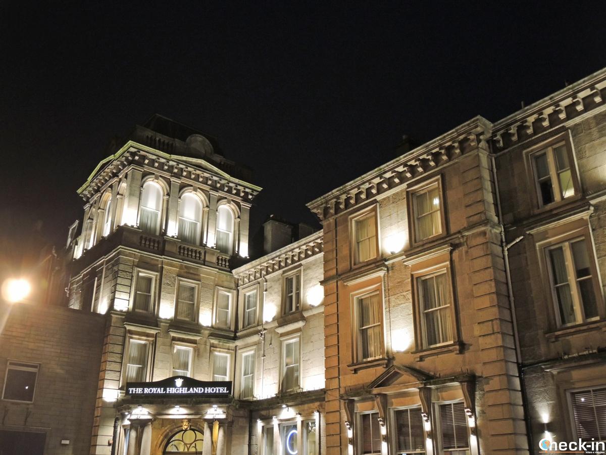 Il Royal Highland Hotel di Inverness, ubicato nei pressi della stazione ferroviaria