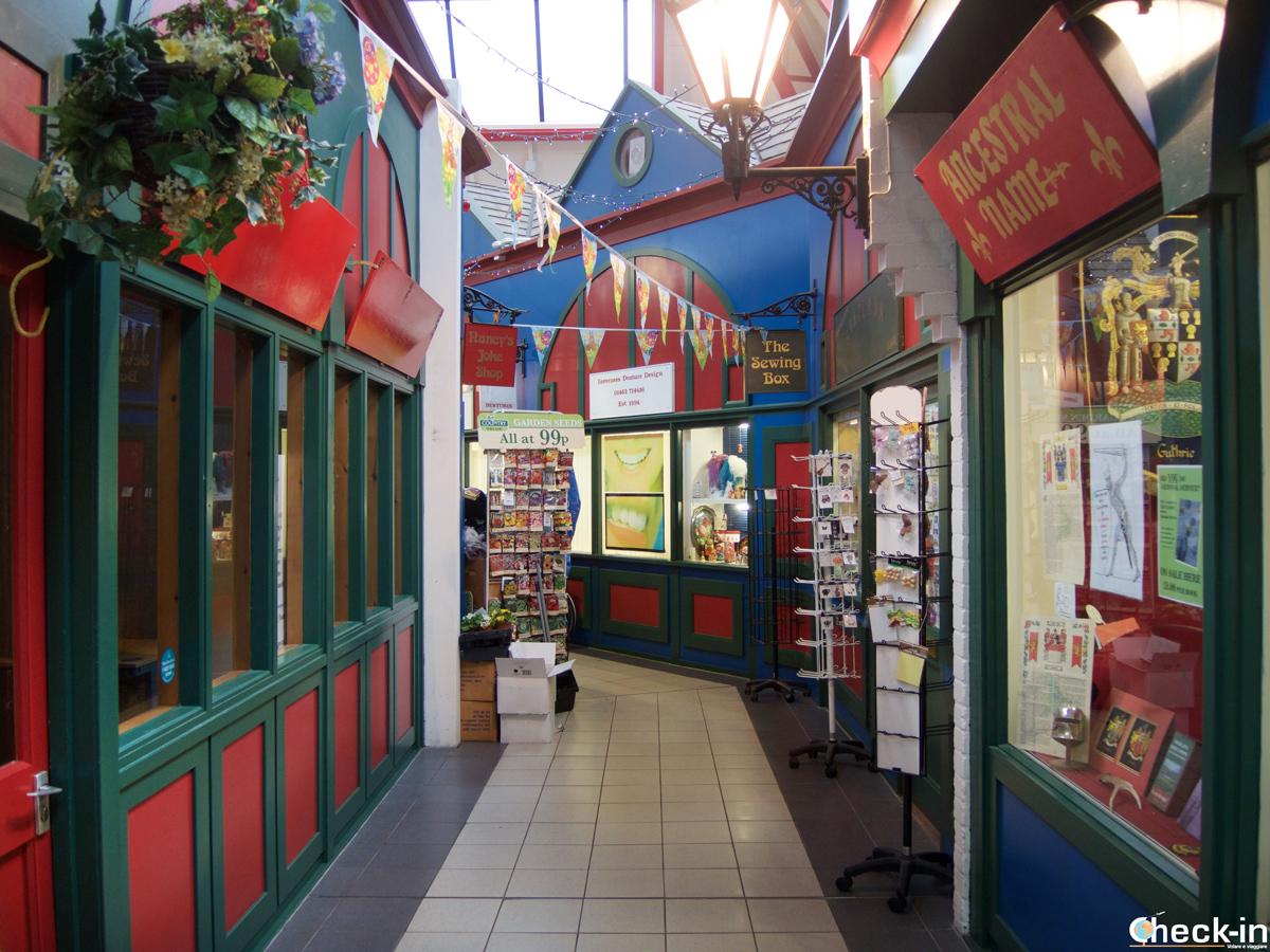 Il Victorian Market nel centro di Inverness - Highlands, Scozia