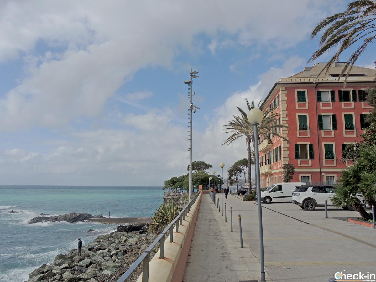 """Villa Punta Nave a Genova Voltri - Il """"quartiere"""" di Renzo Piano"""