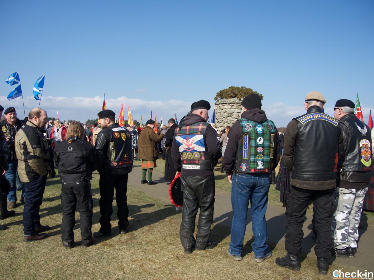 Celebrazione della commemorazione della battaglia di Culloden