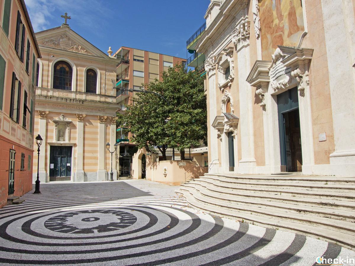 La Chiesa parrocchiale di NS della Concordia e l'Oratorio di S. Giuseppe di Albissola