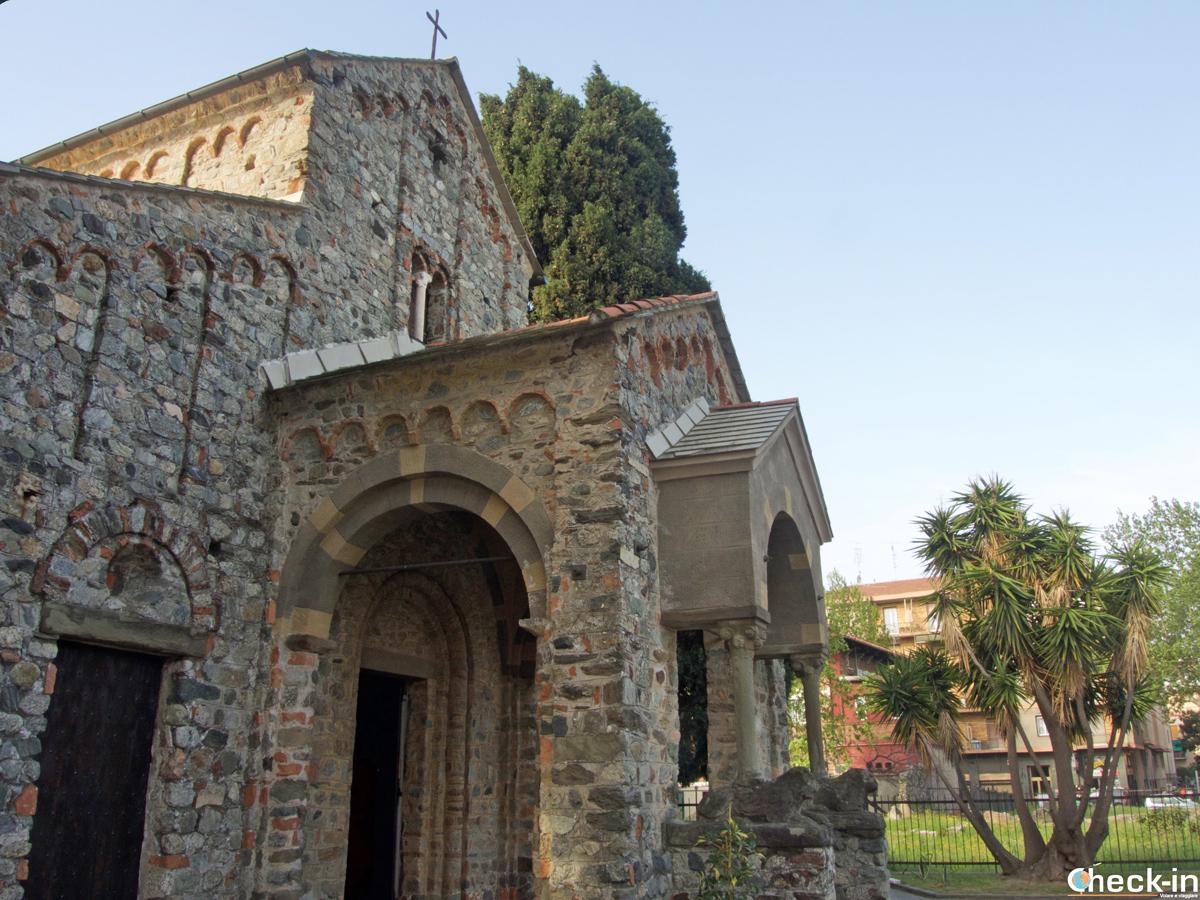 La Chiesa di S. Pietro a Albisola Superiore - Provincia di Savona (Liguria)