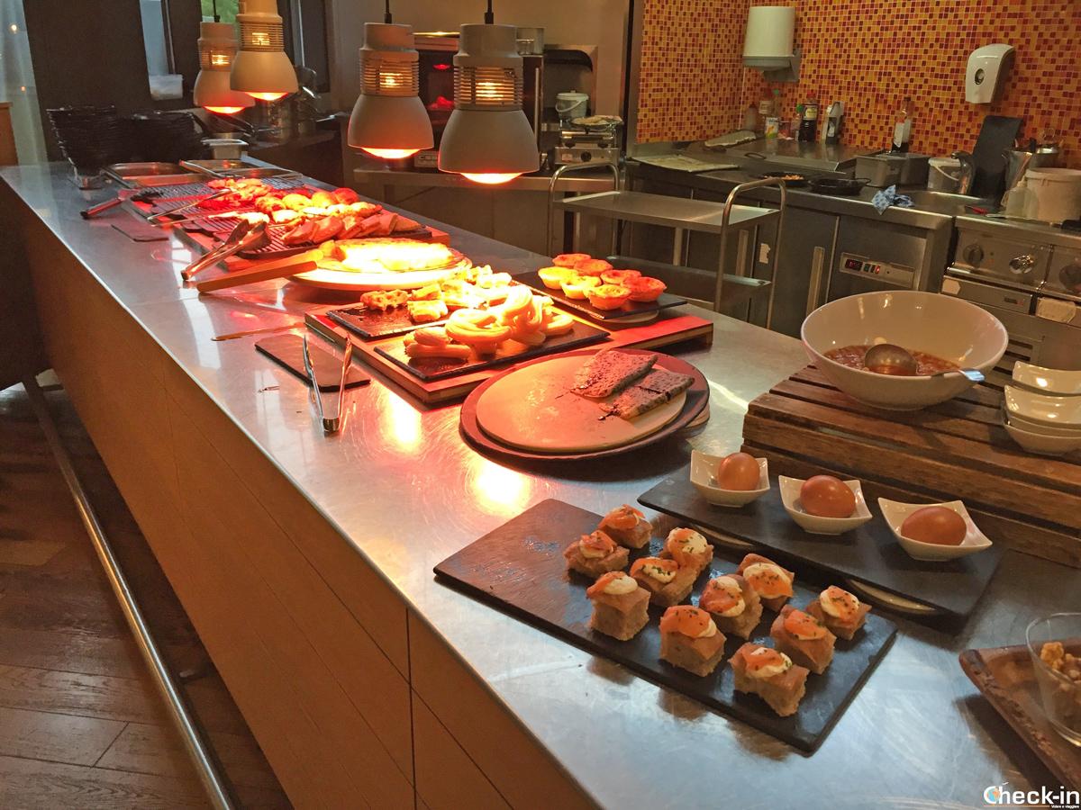 Colazione offerta all'Hotel Puerta de Bilbao - Baracaldo, Spagna