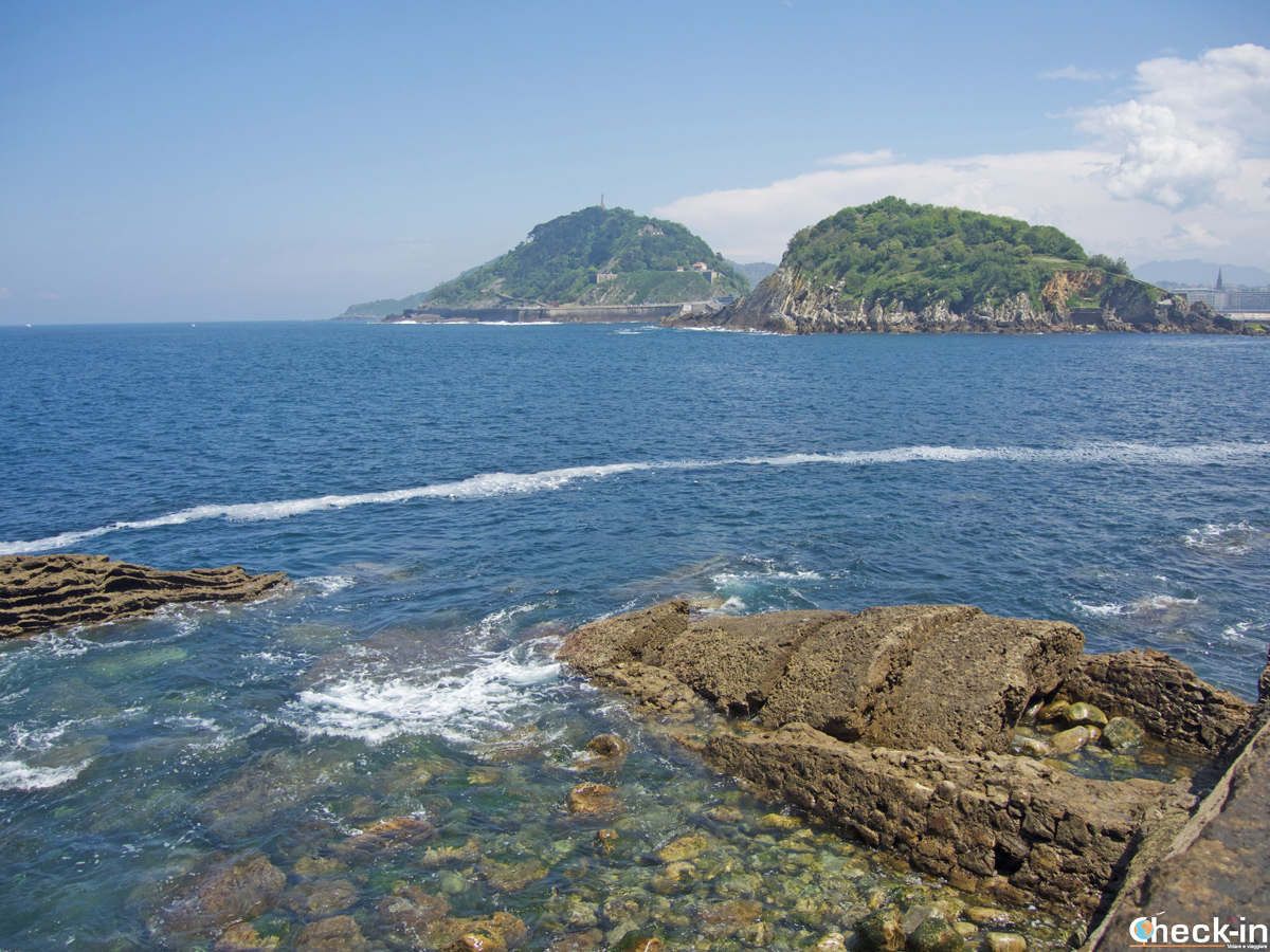 La Isla de Santa Clara a Donostia-San Sebastián, Spagna