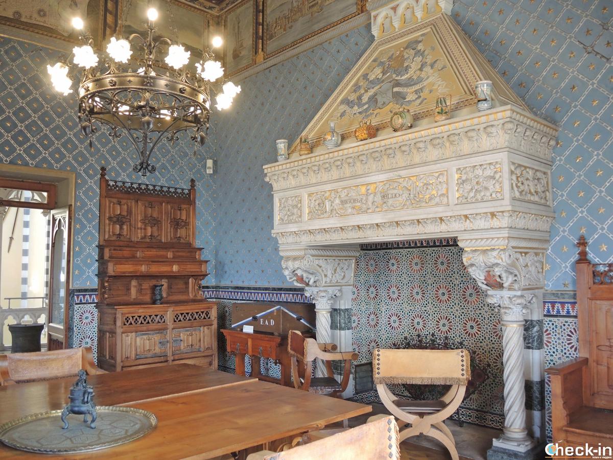 Sala delle Meridiane - Castello d'Albertis (Genova)