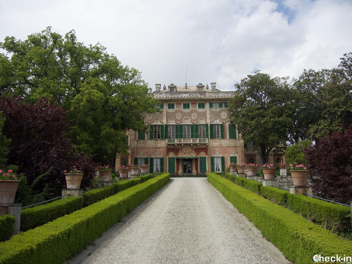 Visita di Villa Faraggiana ad Albissola Marina (Liguria)
