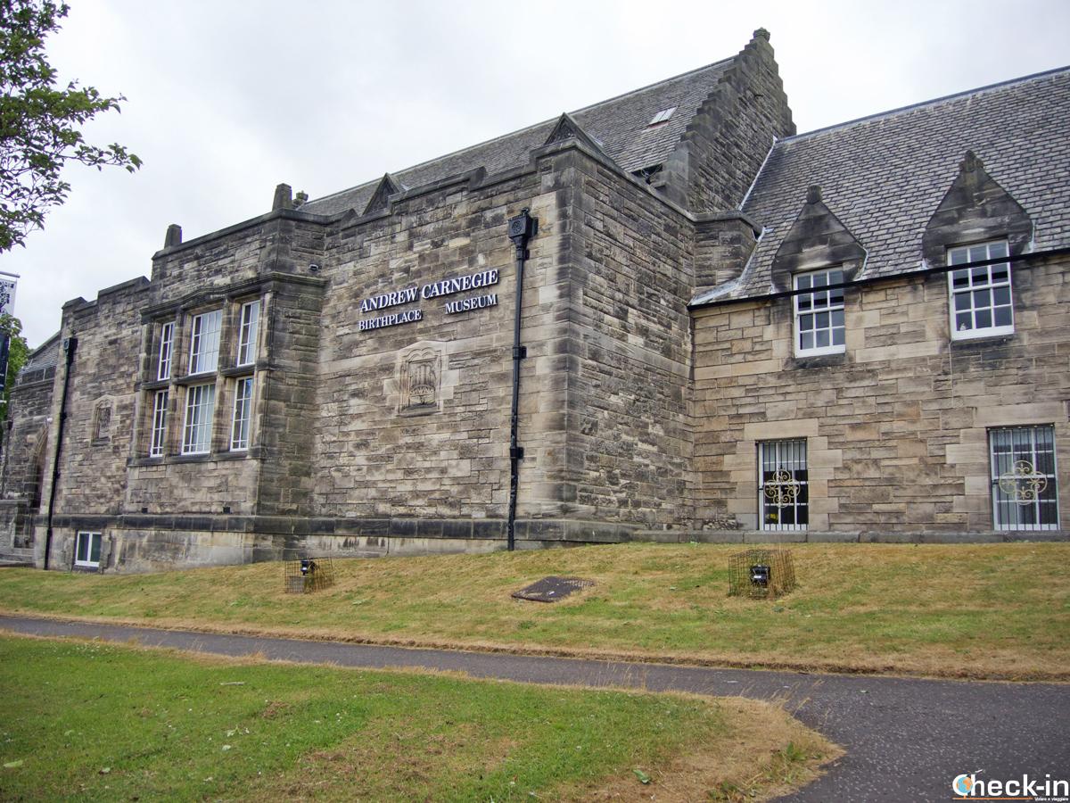 L'Andrew Carnegie Birthplace Museum di Dunfermline (Scozia)