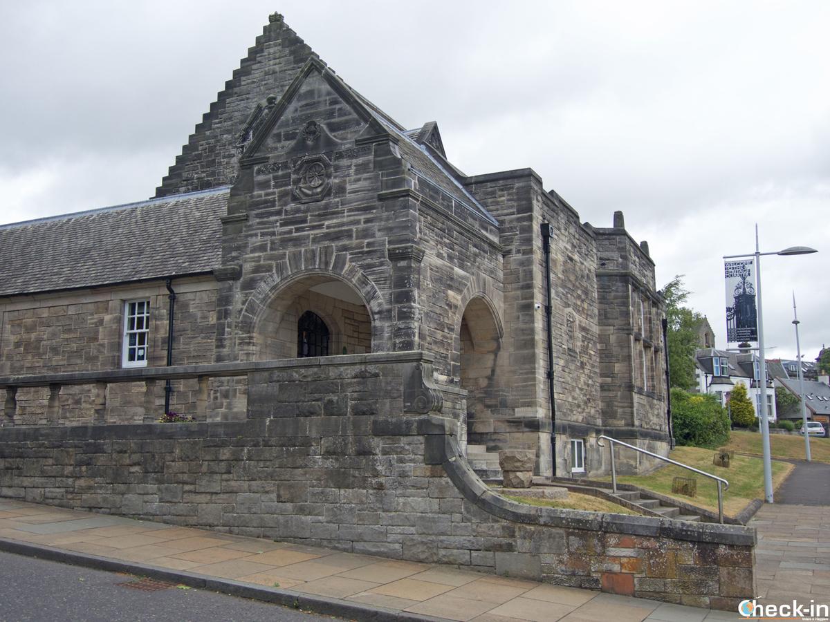 L'Andrew Carnegie Museum di Dunfermline - Fife, Scozia