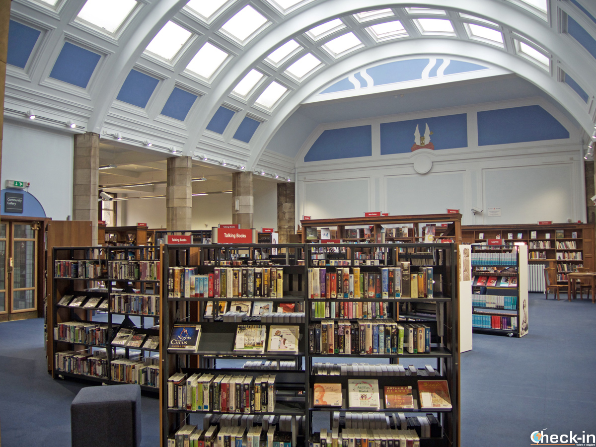 Carnegie Library & Galleries - Dunfermline, Scozia