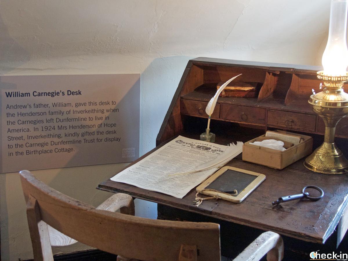 Casa natale di Andrew Carnegie a Dunfermline - Fife, Scozia