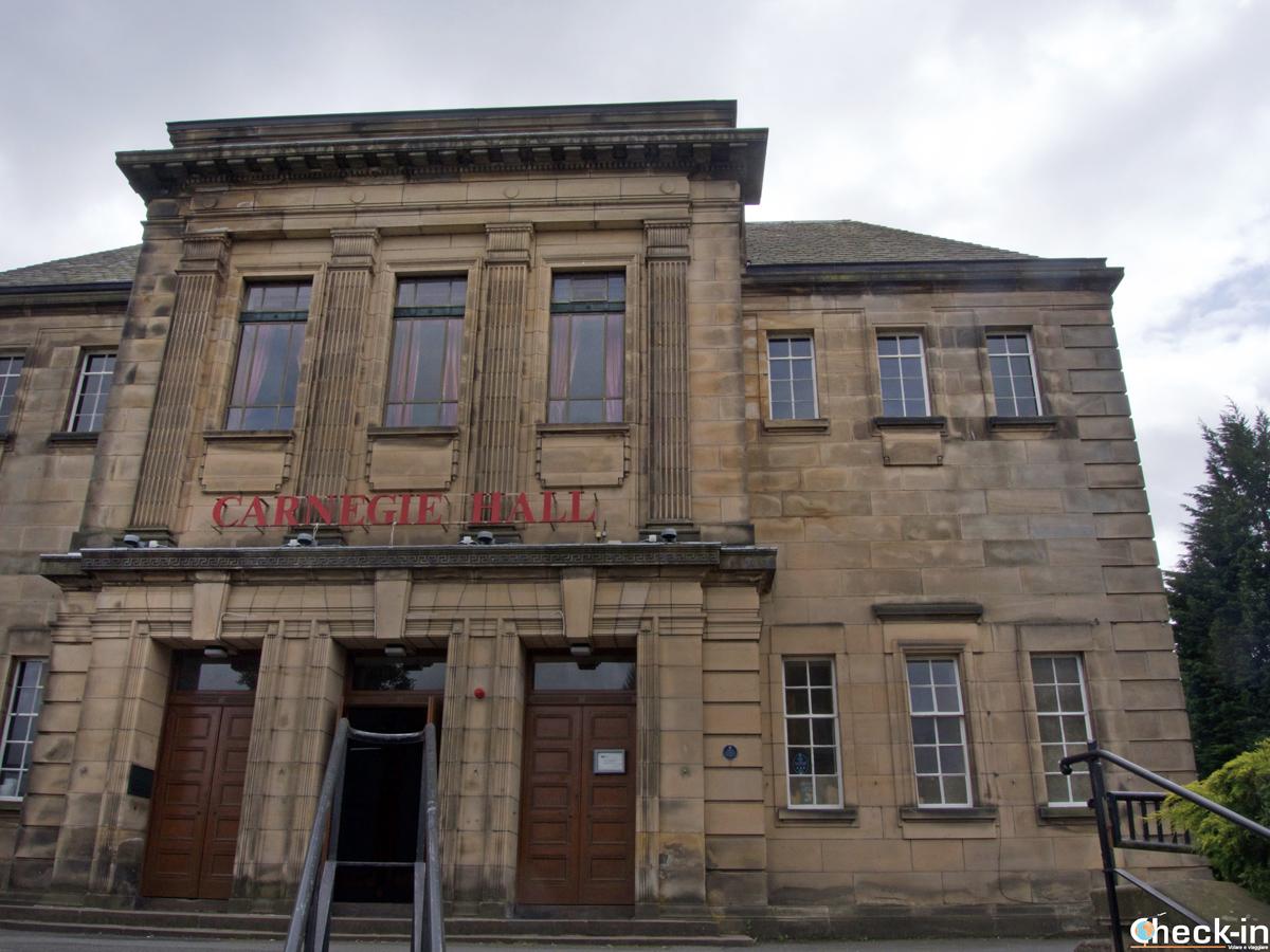 La Carnegie Hall a Dunfermline (Scozia)