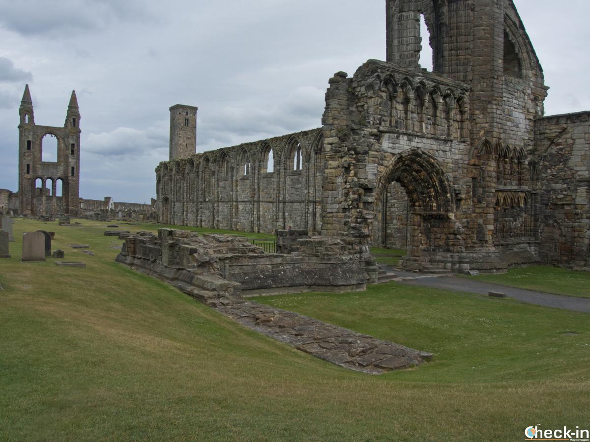 Cattedrale di St Andrews - Fife, Scozia