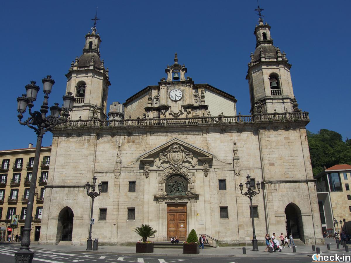 L'Iglesia de San Nicolás nel casco viejo di Bilbao