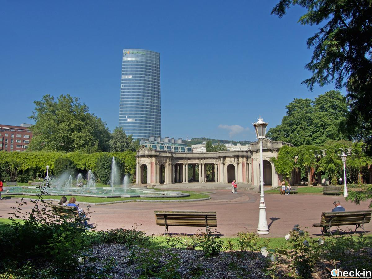 Il Parque Doña Casilda Iturrizar di Bilbao