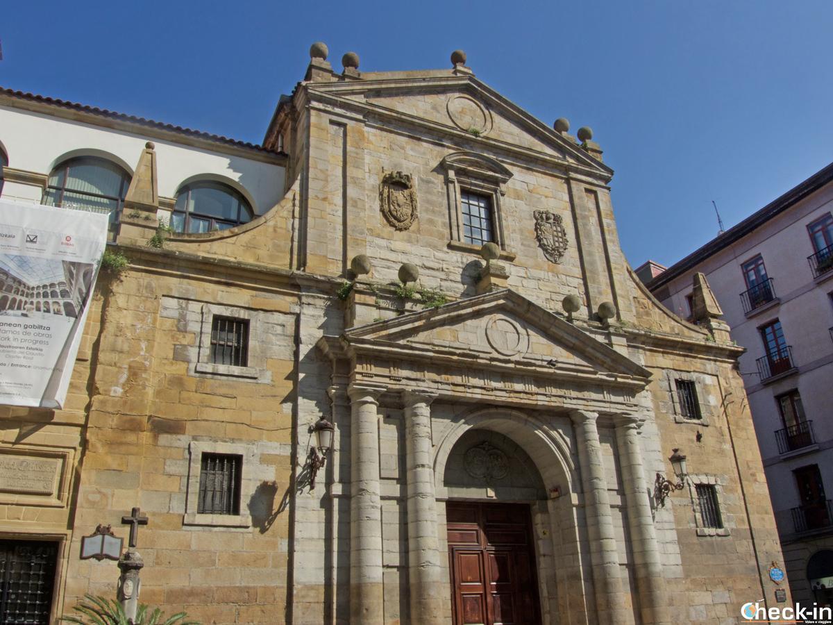 Facciata della Iglesia Santos Juanes di Bilbao