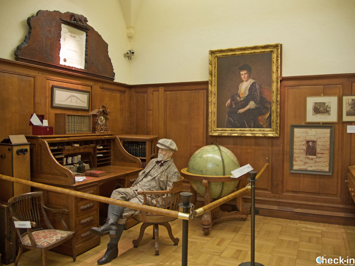 Museo su Andrew Carnegie a Dunfermline (Scozia)