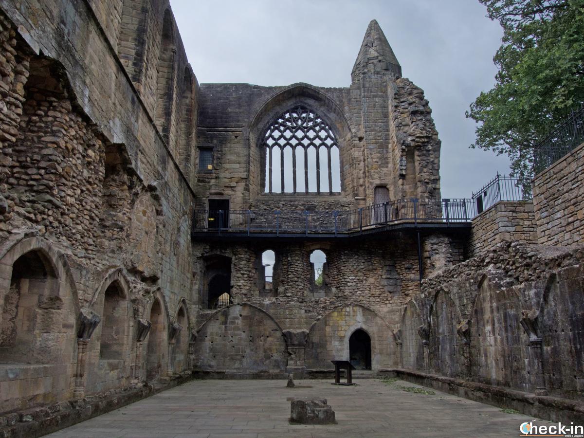 Il Royal Palace di Dunfermline - Fife, Scozia